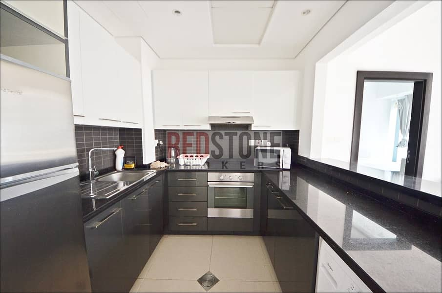 2 Fully Furnished 1 Bed + 2 Bath Pool View