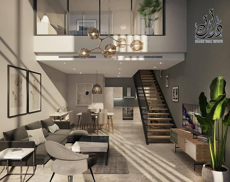 Townhouses for sale in Dubai with 1% monthly installment