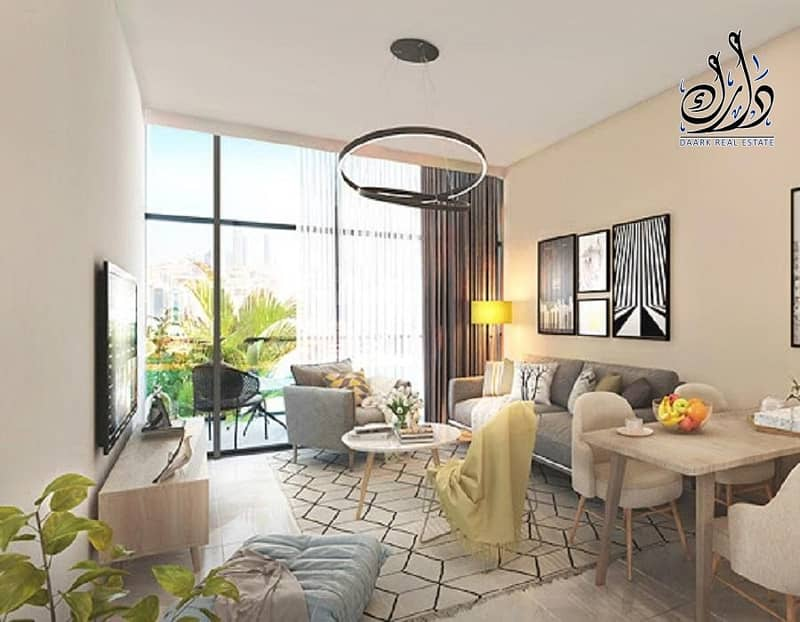 2 Townhouses for sale in Dubai with 1% monthly installment