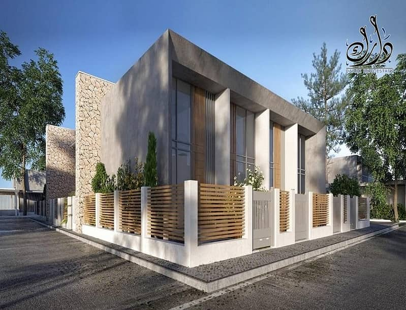 13 Townhouses for sale in Dubai with 1% monthly installment