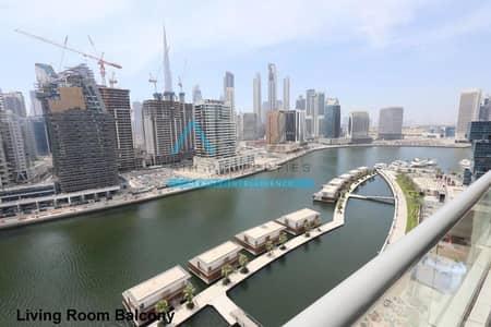 شقة 2 غرفة نوم للايجار في الخليج التجاري، دبي - Upgraded | Fully Furnished Canal View 2 bedroom for rent | Dubai