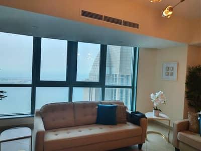 فلیٹ 2 غرفة نوم للايجار في منطقة الكورنيش، أبوظبي - Luxury apartments with a very distinctive sea view 2 bed room- 2 bathroom