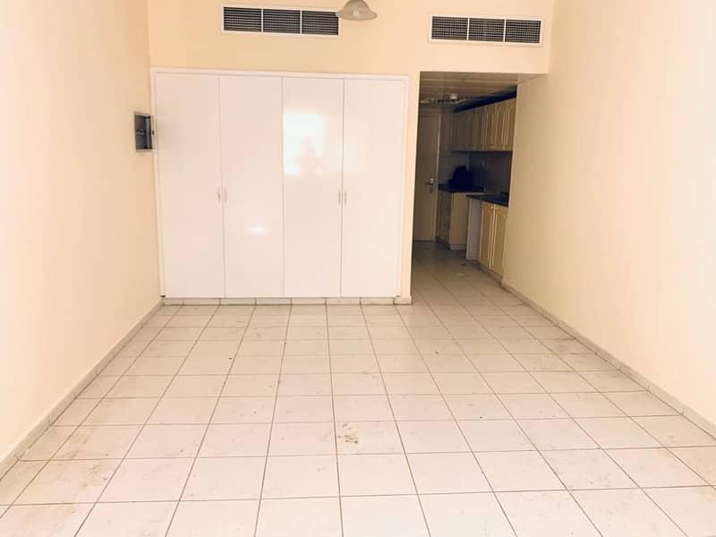 Spacious Studio in al Taawun rent 17k 550 sqrft