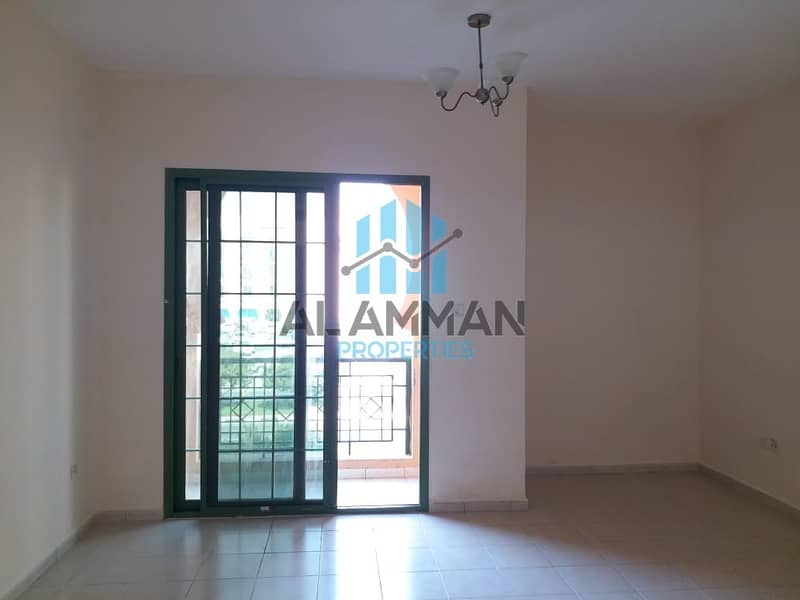 Affordable Price ! Studio With Balcony Available For Rent In Morocco Cluster International City ( Real Pictures)