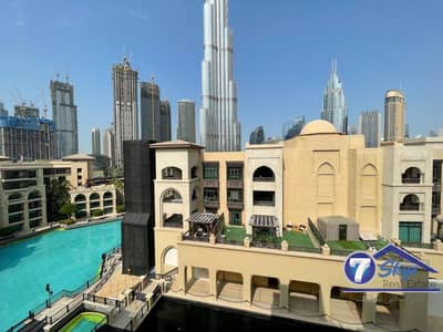 2 Bedroom Apartment for Rent in Old Town, Dubai - A Must-See 2 BR Unit in Tajer | Burj Khalifa View