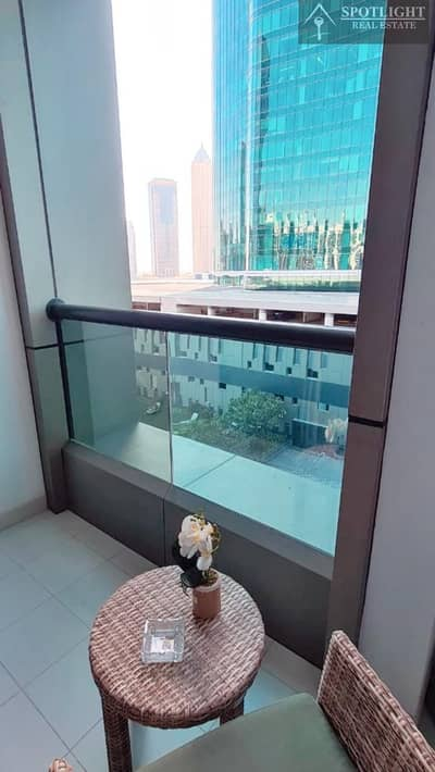 Furinsed Big Studio with Balcony For Rent -Modern Design -