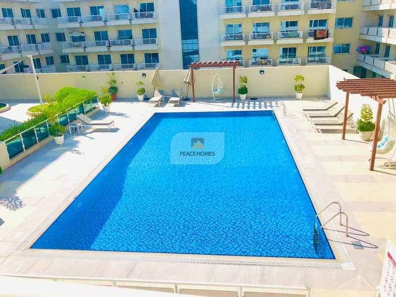FULLY FURNISHED | POOL VIEW | BALCONY