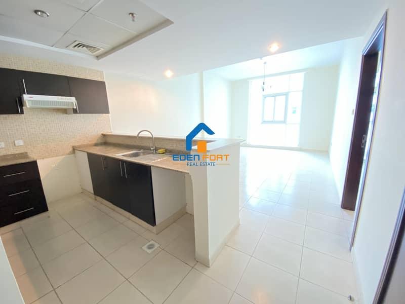 2 Semi Closed Kitchen  Unfurnished Apartment..
