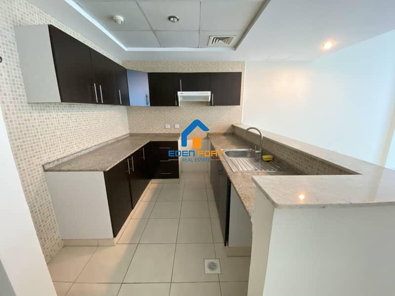 11 Semi Closed Kitchen  Unfurnished Apartment..