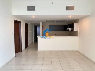 Semi Closed Kitchen  Unfurnished Apartment..