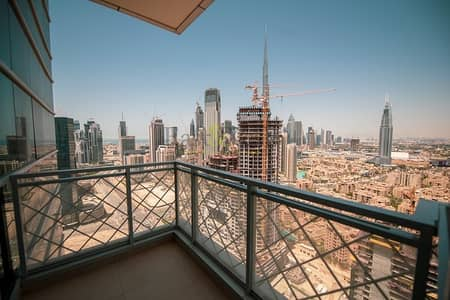 2 Bedroom Flat for Rent in Business Bay, Dubai - Amazing 2 BR with Burj Khalifa View | No Commission