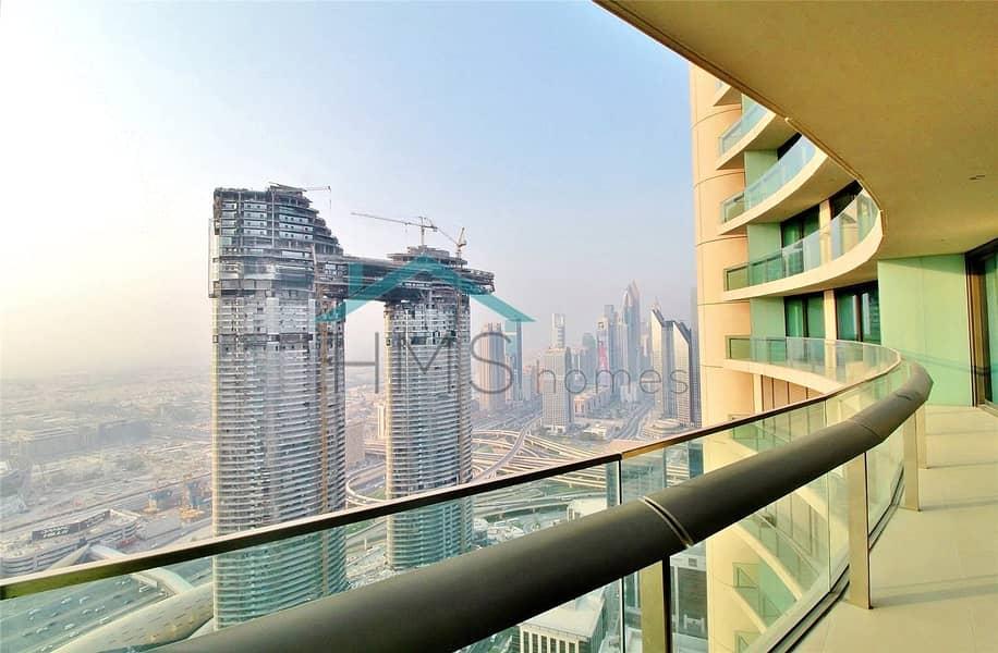 Brand New | Burj Vista | 2 bed + 3 bath