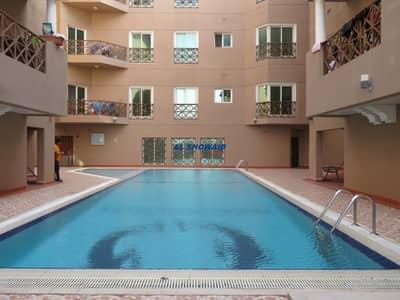 3 Bedroom Apartment for Rent in Al Mamzar, Dubai - 3 BHK| 3 BATH| BALCONY| POOL| PARKING| AL MAMZAR