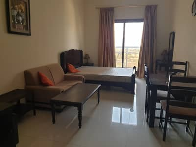 Studio for Rent in Dubai Sports City, Dubai - FULLY FURNISHED STUDIO -UP TO 12 CHEQS WITH BALCONY-PARKING