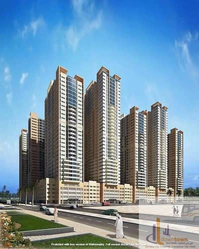 3 Bedroom Flat for Sale in Al Sawan, Ajman - I own 3-room apartment in 42 thousand provider Ajman towers and that the view is open