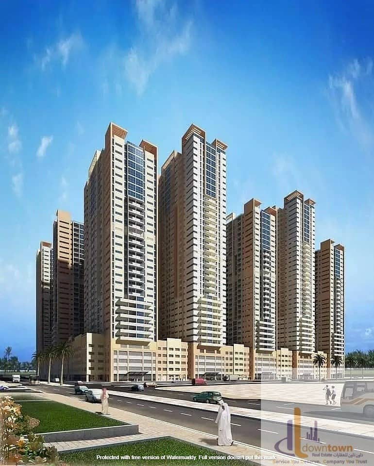 I own 3-room apartment in 42 thousand provider Ajman towers and that the view is open