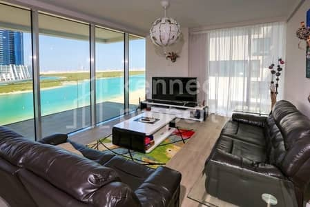 3 Bedroom Flat for Sale in Al Reem Island, Abu Dhabi - On the Beach | Great Sea View I High End Finish