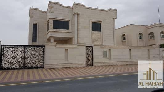 6 Bedroom Villa for Sale in Al Ramtha, Sharjah - For sale a new two storey villa in Ramtha very distinctive location