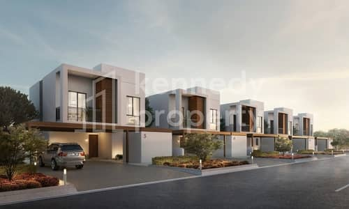 3 Bedroom Townhouse for Sale in Al Ghadeer, Abu Dhabi - Large Layout I Community View I  Balcony