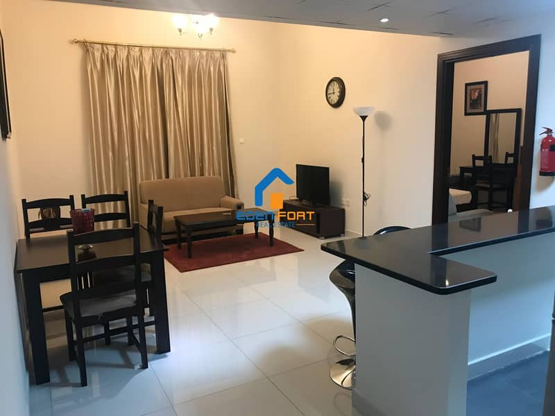 2 With Brand New Furniture One Bedroom Flat
