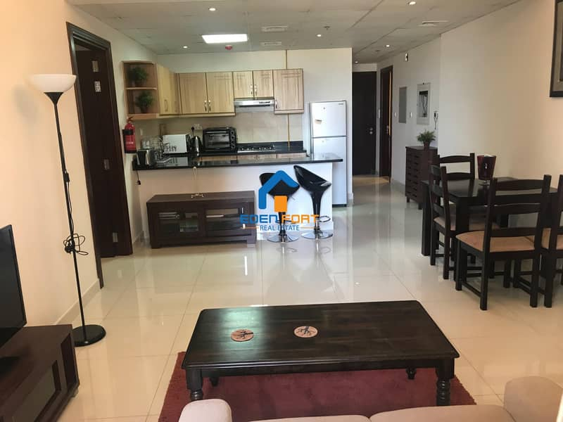 With Brand New Furniture One Bedroom Flat