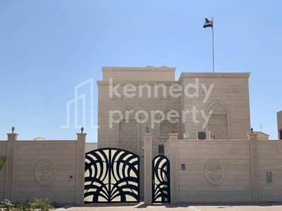 5 Bedroom Villa for Sale in Shakhbout City (Khalifa City B), Abu Dhabi - Covered Parking I Nice Garden I  Own Gate