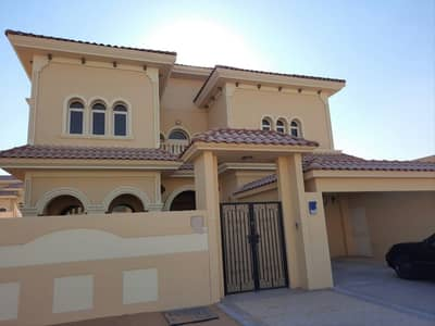 3 Bedroom Villa for Rent in Baniyas, Abu Dhabi - A new villa in Bawabt Al sharq, corner, with a driver room, next to the mall, with a spacious area