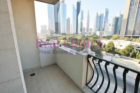 2 Bedroom Flat for Rent in Downtown Dubai, Dubai - Amazing 2BR w/ Balcony | DIFC View |No Commission