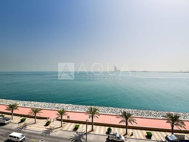 2 Beautiful Sea view | Huge Terrace | Furnished