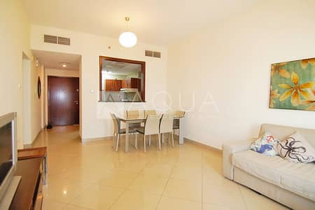 2 Bedroom Apartment for Rent in Jumeirah Lake Towers (JLT), Dubai - Fully Furnished | High Floor | City View