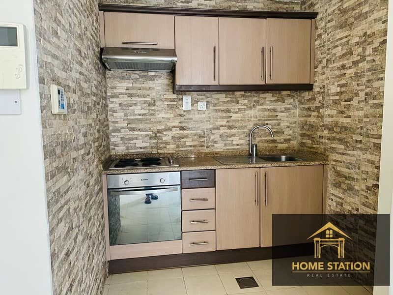 8 1 MONTH FREE semi furnished studio for rent in albarsha1