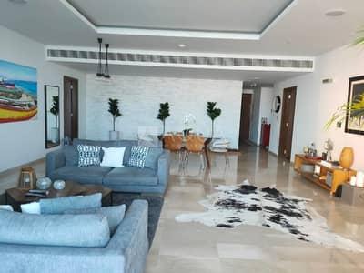 فلیٹ 2 غرفة نوم للايجار في نخلة جميرا، دبي - Fully Furnished | Study | Vacant | Sea view