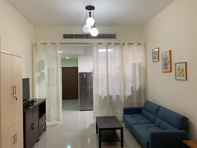 Studio for Rent in Dubailand, Dubai - FULLY FURNISHED STUDIO  MADISON RESIDENCES 26,000 BY 4 CHEQUES