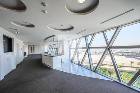 مکتب  للايجار في شاطئ الراحة، أبوظبي - Low Floor | Fitted Office | Spacious