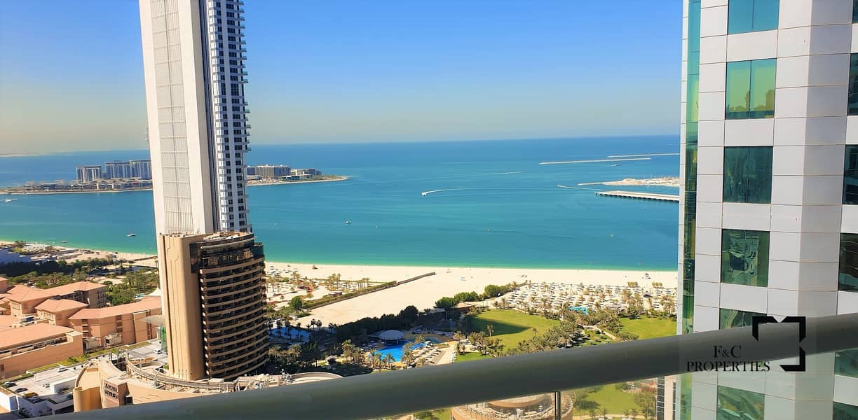 Spacious 1br | Full Sea View | Chiller Free