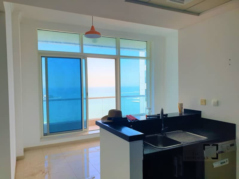 2 Spacious 1br | Full Sea View | Chiller Free