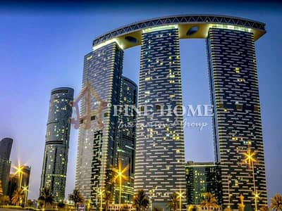 1 Bedroom Apartment for Sale in Al Reem Island, Abu Dhabi - Negotiable Price | 1BR with Laundry + Parking