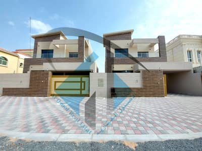 6 Bedroom Villa for Sale in Al Mowaihat, Ajman - brand new modern villa with excellent price freehold for all nationalities