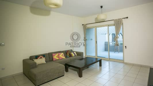 1 Bedroom Flat for Sale in The Greens, Dubai - FULLY FURNISHED 1 BHK I GROUND FLOOR