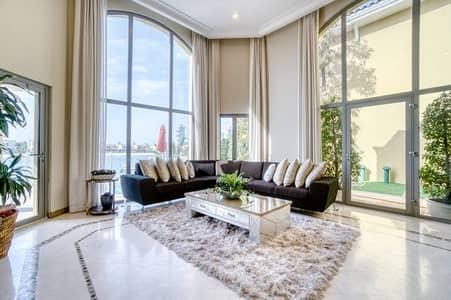 5 Bedroom Villa for Rent in Palm Jumeirah, Dubai - 5BR Sandy Bay I/ Fully Furnished