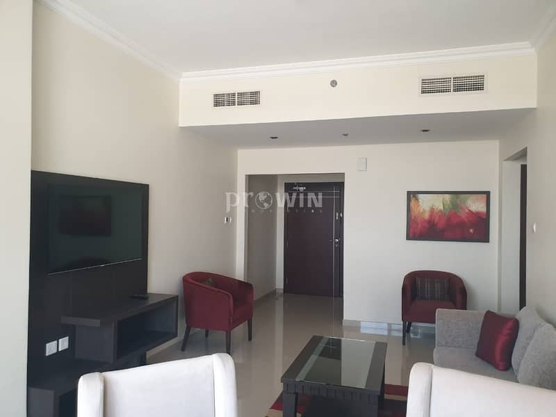 2 Fully furnished | Maid + Storage | Autodrome View |