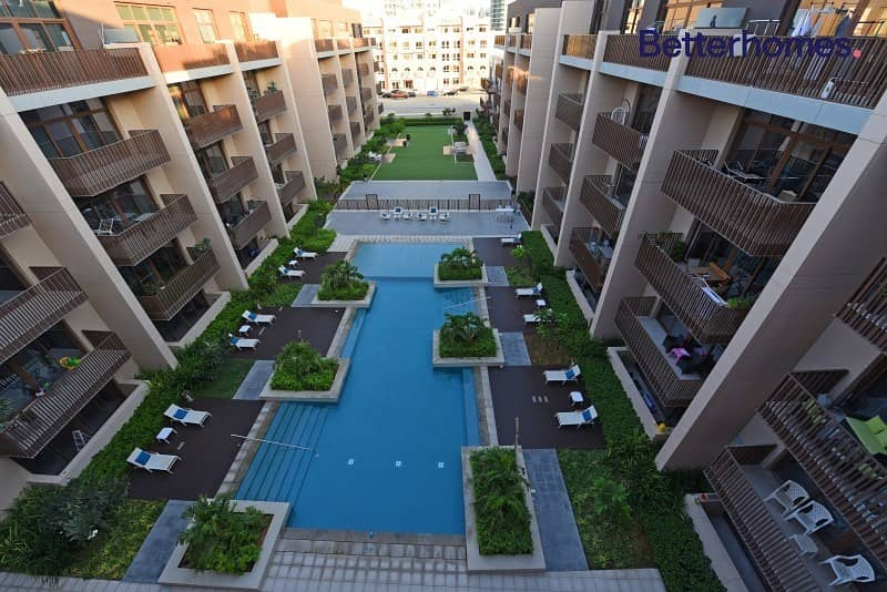 10 Large 2 Bedroom |Vacant | Full Pool View