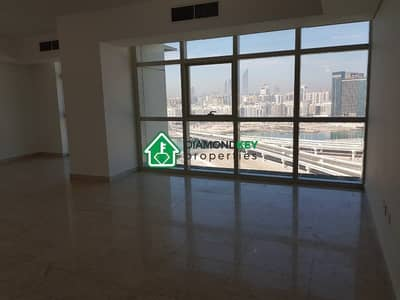 2 Bedroom Flat for Rent in Al Reem Island, Abu Dhabi - Biggest 2 plus maid in OT with Full Sea View