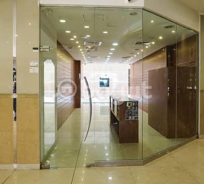 Shop for Rent in Al Rumaila, Ajman - SHOP AVAILABLE FOR RENT IN AL SHORAFA TOWER 1, RUMAILA 3, AJMAN