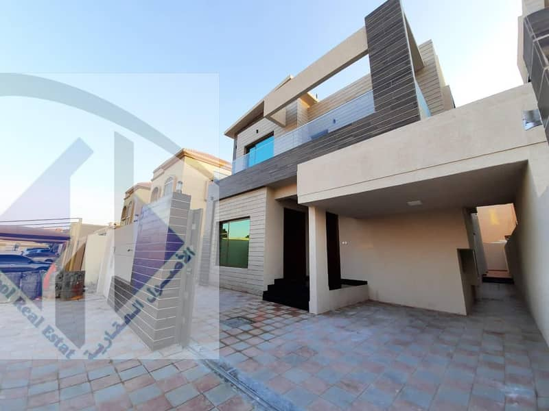 For sale, modern villa, high quality finishes, excellent spaces