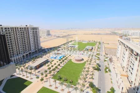2 Bedroom Flat for Rent in Town Square, Dubai - Amazing park view High floor Brand new