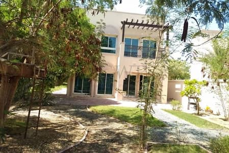 2 Bedroom Villa for Rent in Jumeirah Village Triangle (JVT), Dubai - Simply the Best Villa | Facing Park | Extremely Quite | Jungle Garden |