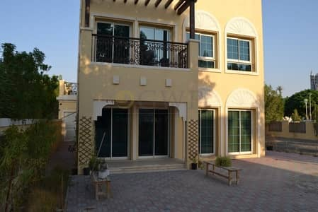 2 Bedroom Villa for Rent in Jumeirah Village Triangle (JVT), Dubai - 12 Steps From Green Belt | Huge Back Yard | Low maintenance |