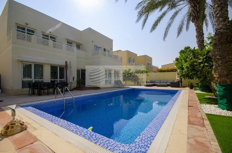 EXCLUSIVE |Fully Upgraded | Partly Furnished| Pool
