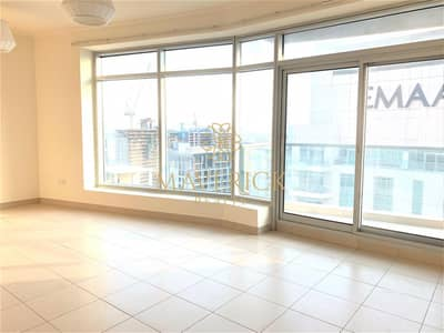 2 Bedroom Flat for Rent in Downtown Dubai, Dubai - Chiller Free | Spacious 2BR | High Floor
